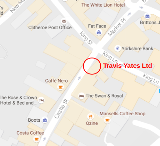 Map of location of Travis Yates Ltd - click for Google map
